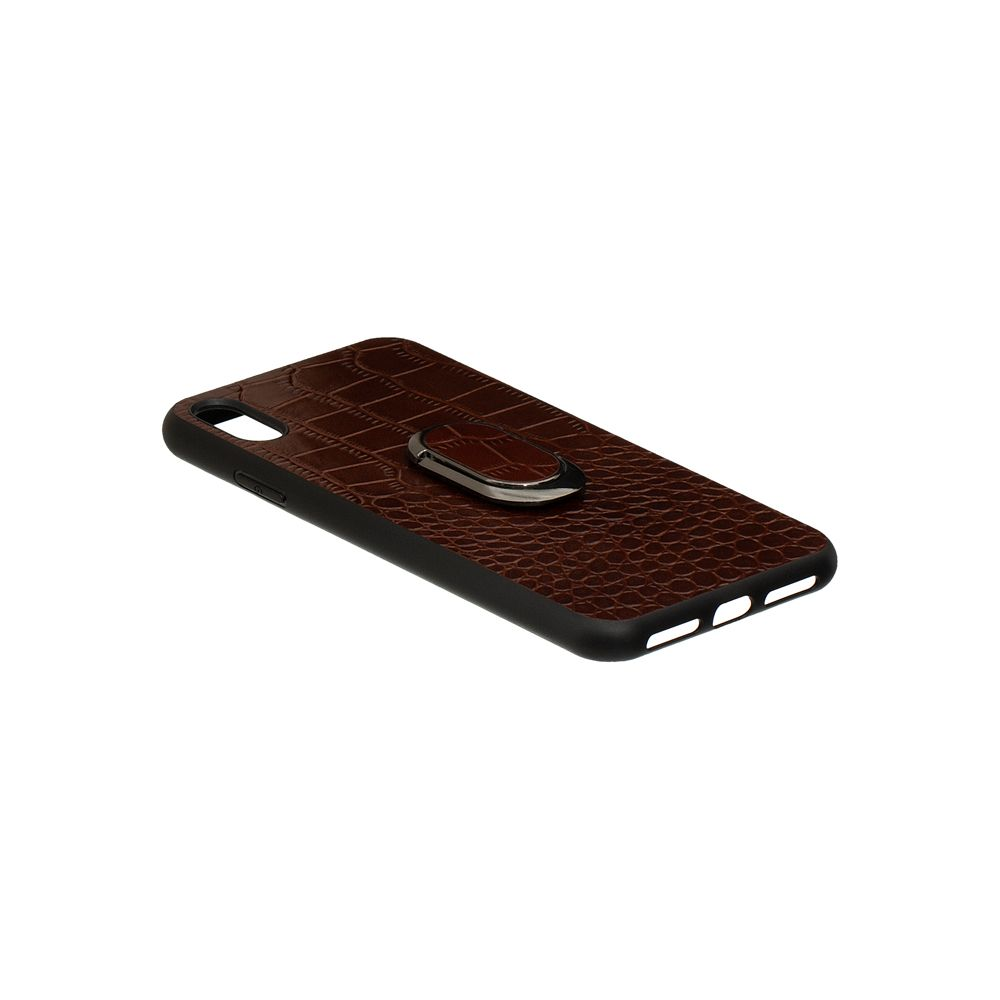 Купить ЗАДНЯЯ НАКЛАДКА GENUINE LEATHER CROCO FOR APPLE IPHONE XS MAX_3