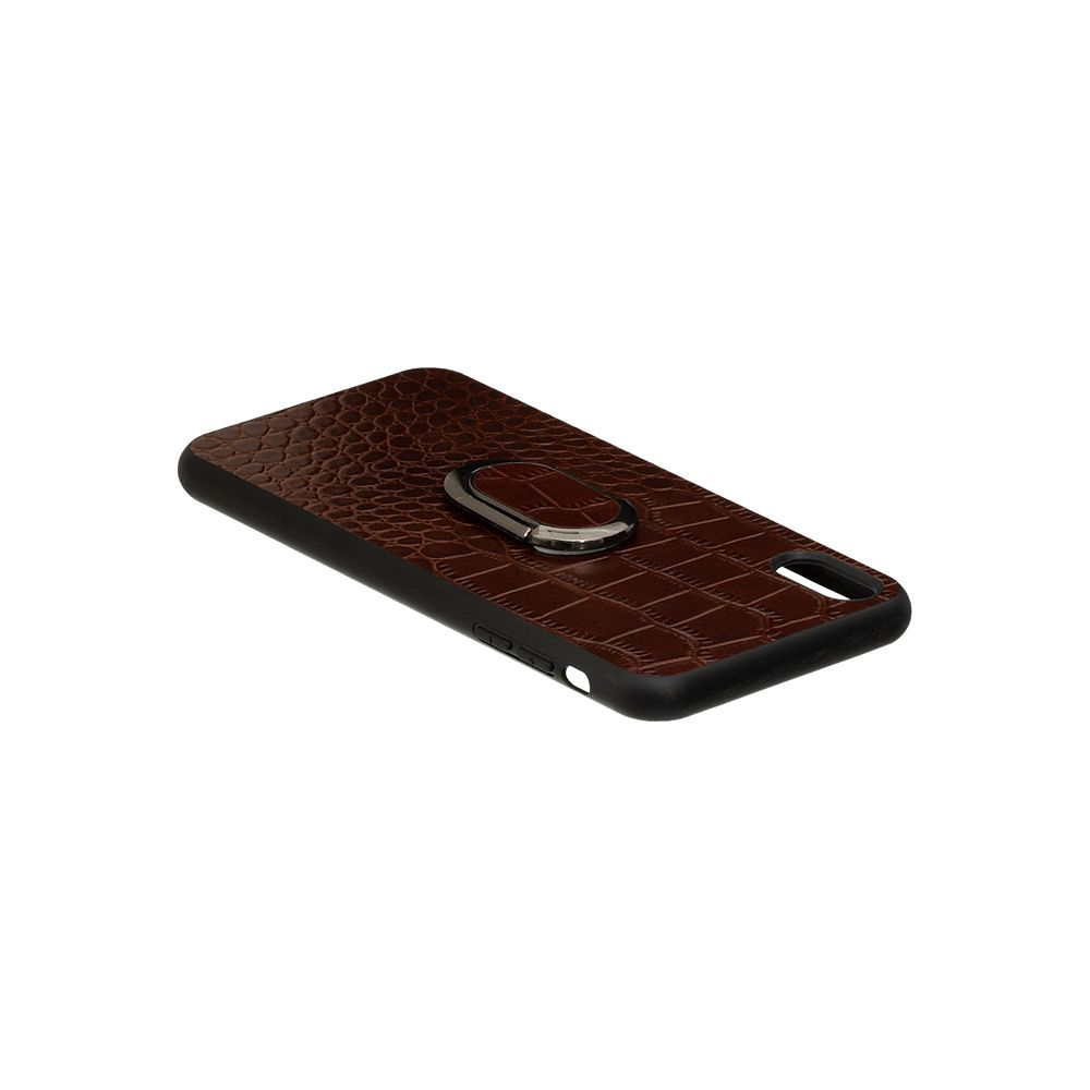 Купить ЗАДНЯЯ НАКЛАДКА GENUINE LEATHER CROCO FOR APPLE IPHONE XS MAX_4