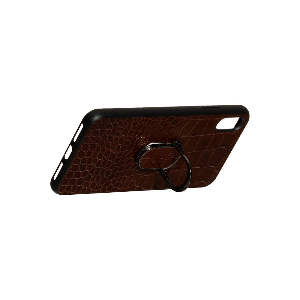 Купить ЗАДНЯЯ НАКЛАДКА GENUINE LEATHER CROCO FOR APPLE IPHONE XS MAX_6