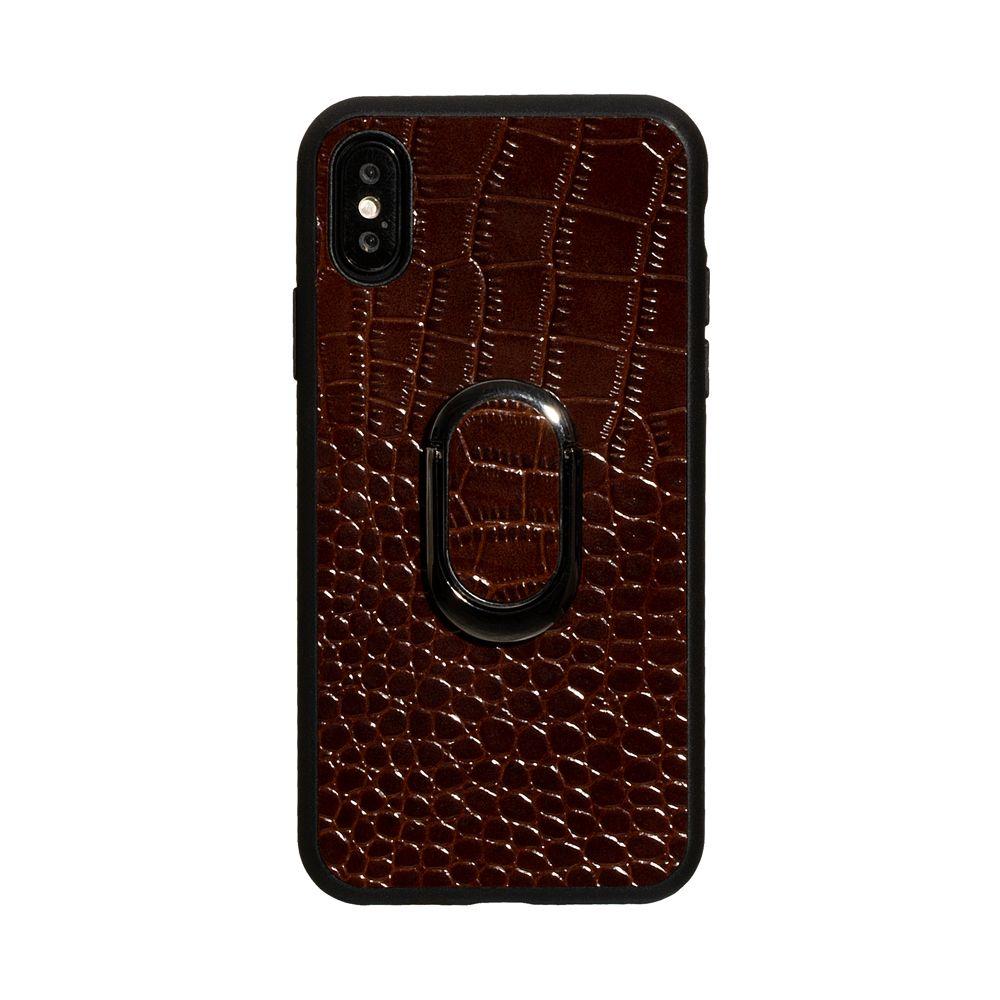 Купить ЗАДНЯЯ НАКЛАДКА GENUINE LEATHER CROCO FOR APPLE IPHONE X / XS_2