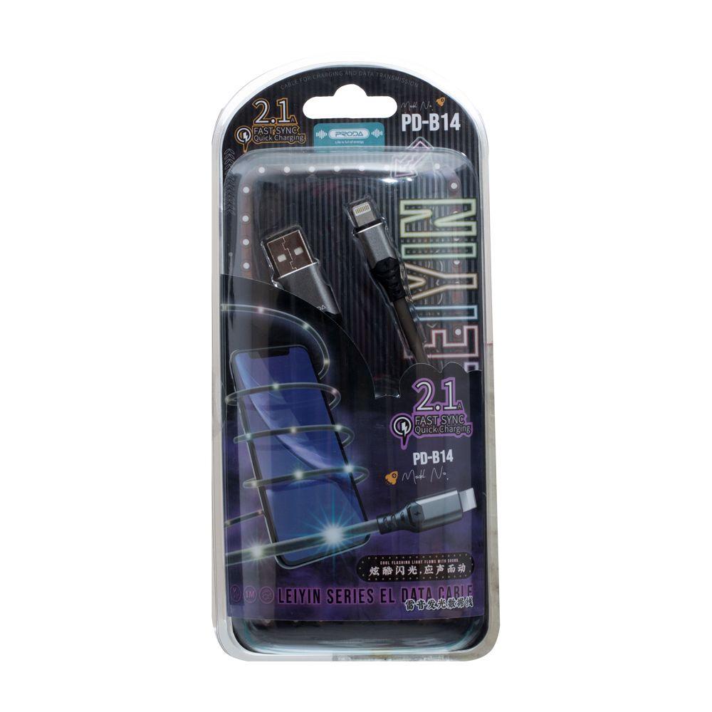 Купить USB REMAX PRODA PD-B14I LEIYIN LIGHTNING