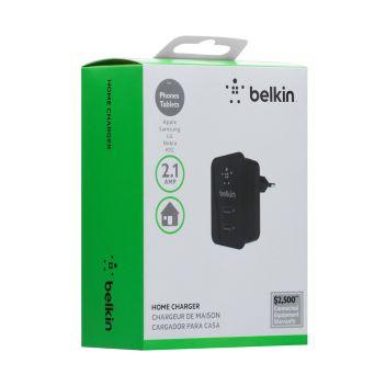 Купить СЕТЕВОЕ ЗАРЯДНОЕ УСТРОЙСТВО BELKIN F8053 2 USB A