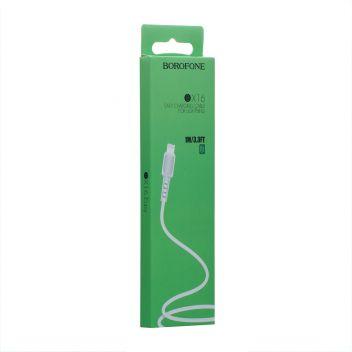 Купить USB BOROFONE BX16 LIGHTNING