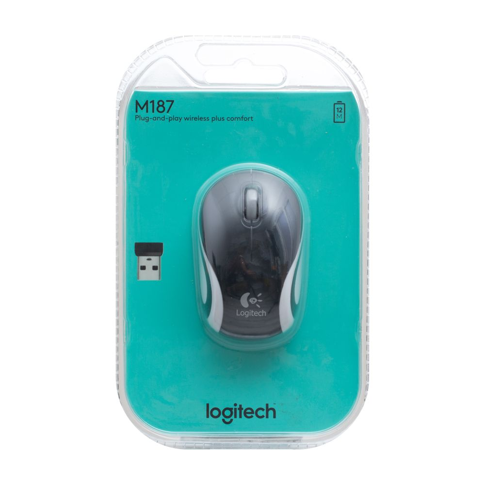 Купить WIRELESS МЫШЬ LOGITECH M187