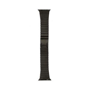 Купить РЕМЕШОК APPLE WATCH LINK HIGH COPY 42 / 44MM BLACK