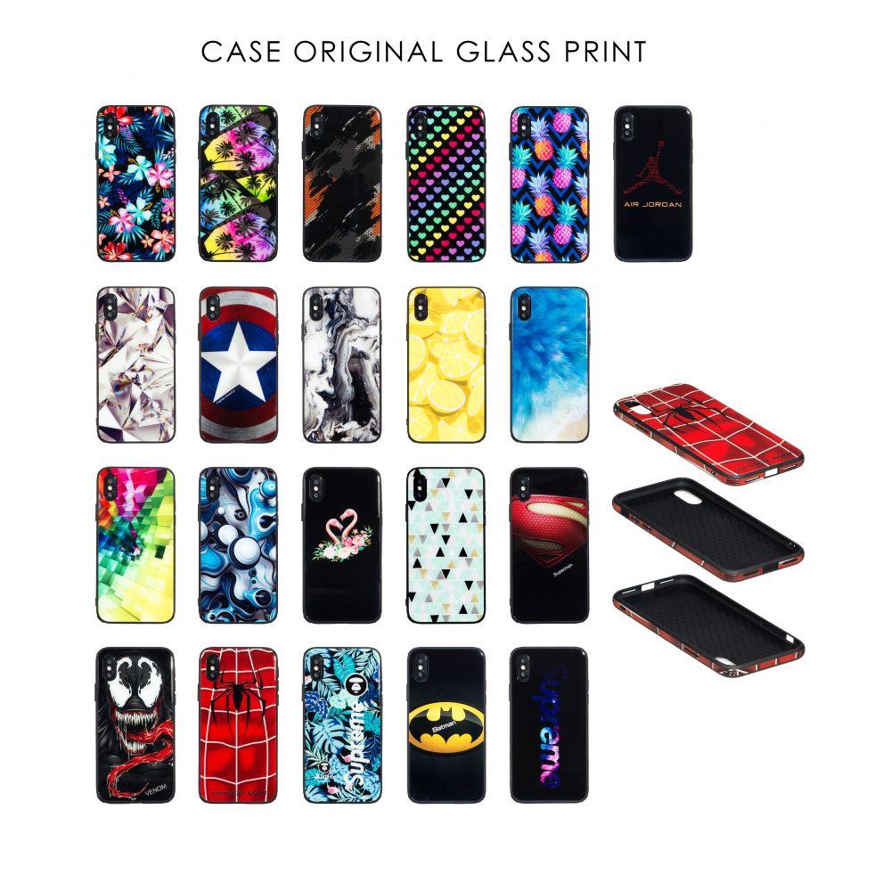 Купить СИЛИКОН CASE ORIGINAL GLASS PRINT FOR APPLE IPHONE 7G / 8G_24