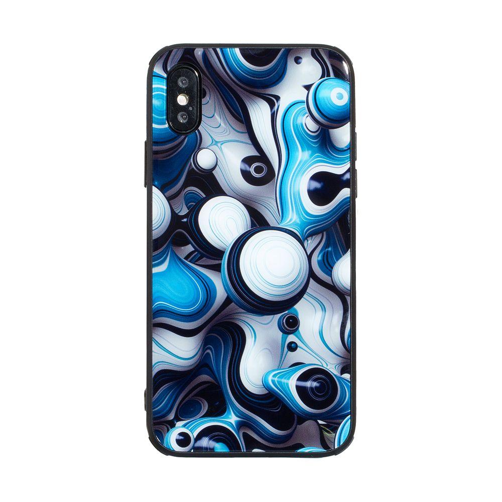 Купить СИЛИКОН CASE ORIGINAL GLASS PRINT FOR APPLE IPHONE X / XS_10