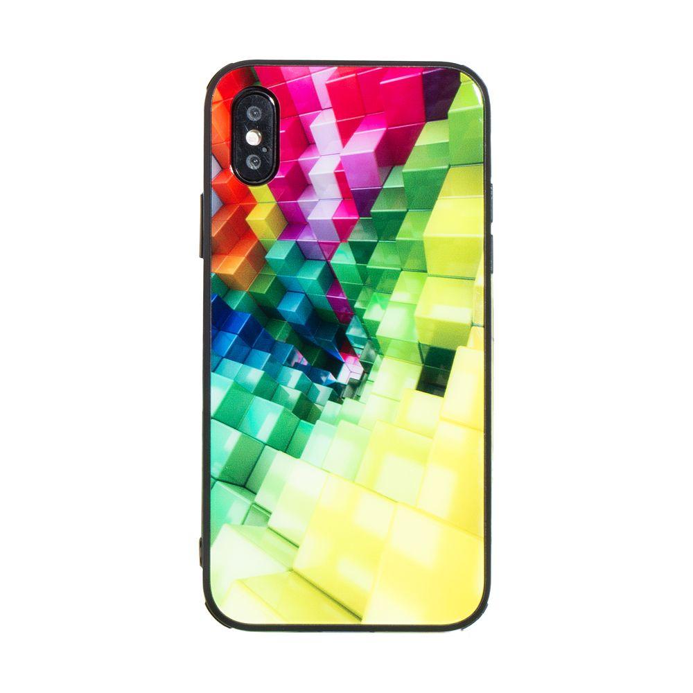 Купить СИЛИКОН CASE ORIGINAL GLASS PRINT FOR APPLE IPHONE X / XS_11