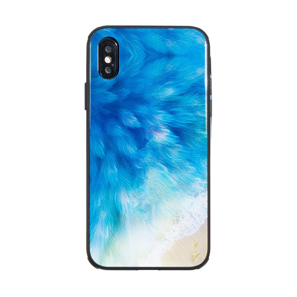 Купить СИЛИКОН CASE ORIGINAL GLASS PRINT FOR APPLE IPHONE X / XS