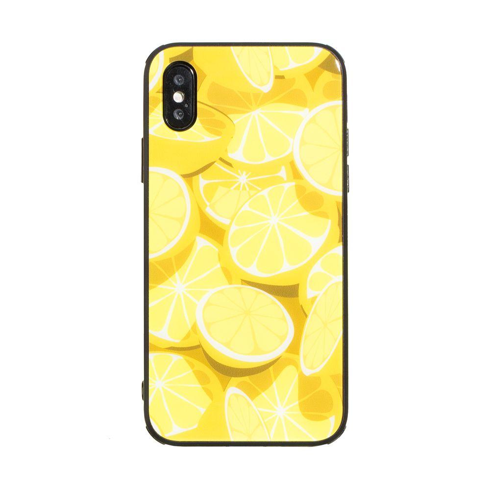 Купить СИЛИКОН CASE ORIGINAL GLASS PRINT FOR APPLE IPHONE X / XS_12