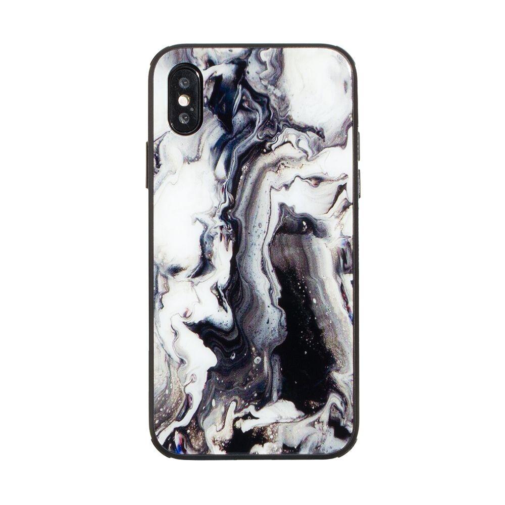Купить СИЛИКОН CASE ORIGINAL GLASS PRINT FOR APPLE IPHONE X / XS_13