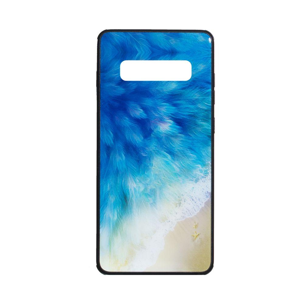 Купить СИЛИКОН CASE ORIGINAL GLASS PRINT FOR SAMSUNG S10 PLUS_1