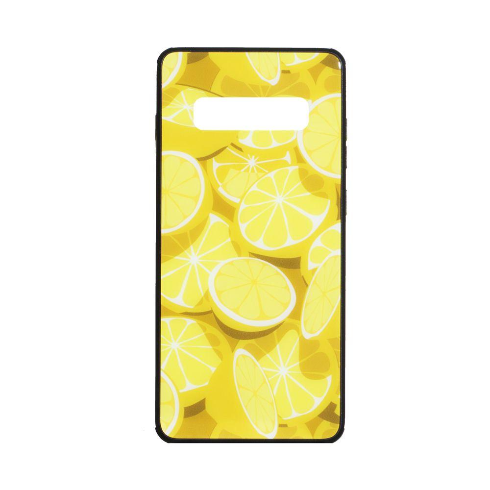 Купить СИЛИКОН CASE ORIGINAL GLASS PRINT FOR SAMSUNG S10 PLUS_4
