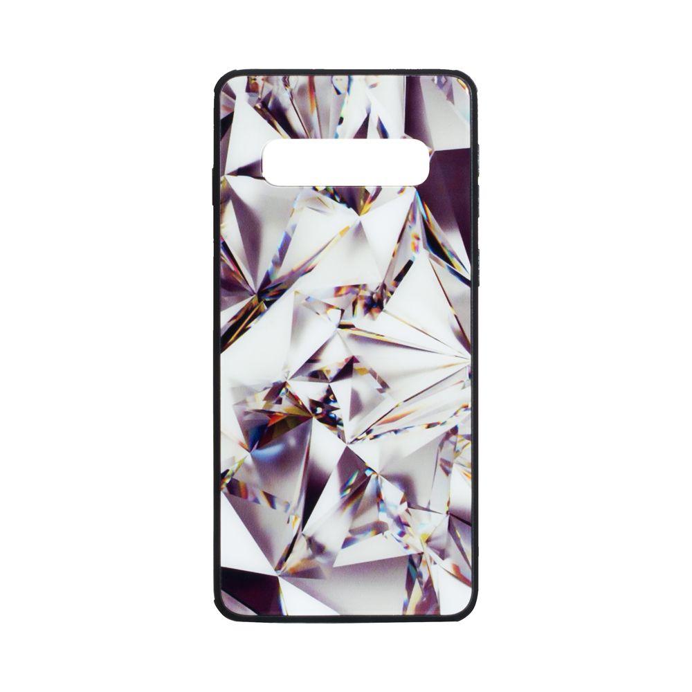 Купить СИЛИКОН CASE ORIGINAL GLASS PRINT FOR SAMSUNG S10 PLUS_5