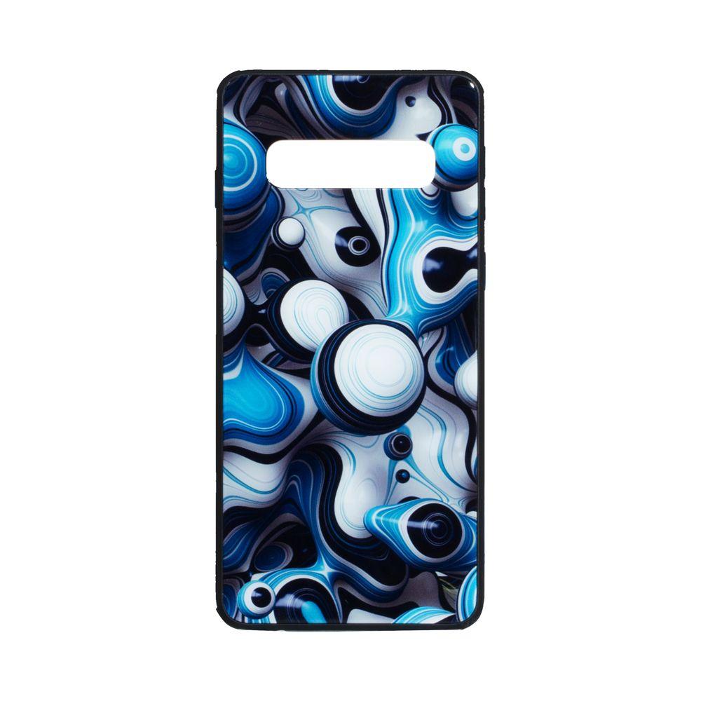 Купить СИЛИКОН CASE ORIGINAL GLASS PRINT FOR SAMSUNG S10 PLUS_6
