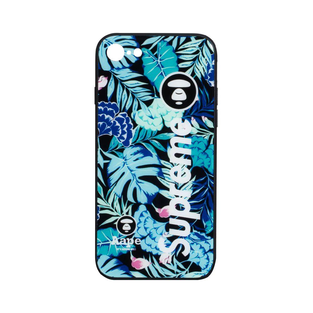 Купить СИЛИКОН CASE ORIGINAL GLASS PRINT FOR APPLE IPHONE 7G / 8G_9