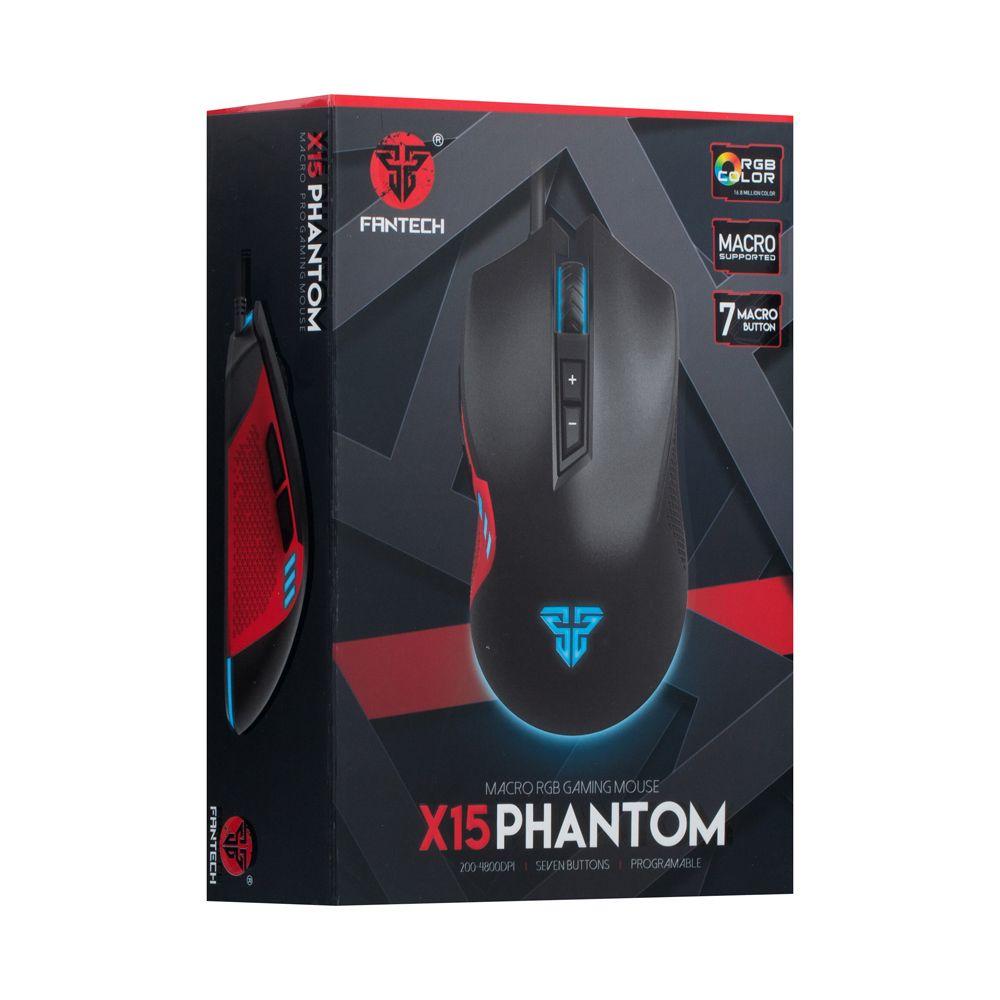 Купить USB МЫШЬ FANTECH X15 PHANTOM