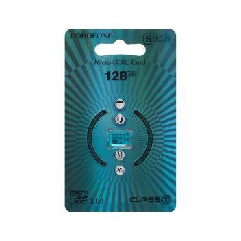 Купить КАРТА ПАМЯТИ BOROFONE MICROSDXC 128GB 10 CLASS