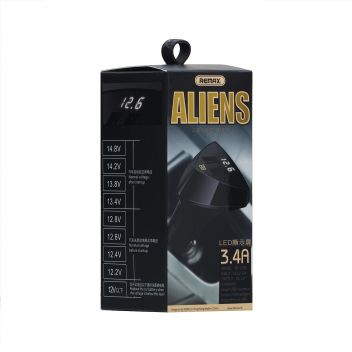 Купить АВТО ЗАРЯДНОЕ УСТРОЙСТВО REMAX RC-C208 LED 2 USB 3.4A