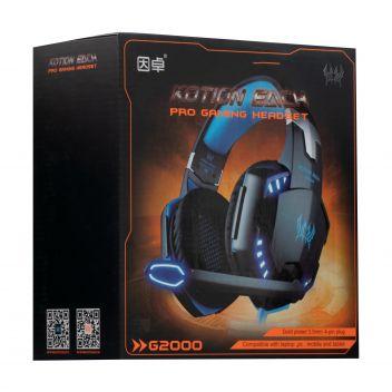 Купить НАУШНИКИ PC KOTION EACH G2000 3.5 + USB COLORFULL LIGHT