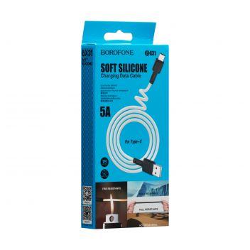 Купить USB BOROFONE BX31 SILICONE TYPE-C