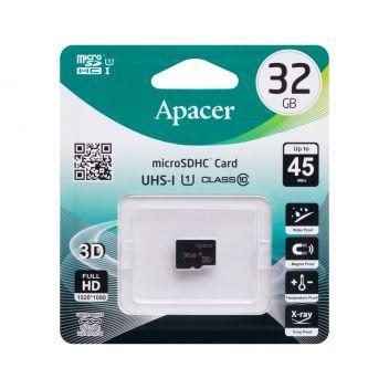 Купить КАРТА ПАМЯТИ APACER MICROSDHC 32GB 10 CLASS БЕЗ АДАПТЕРА