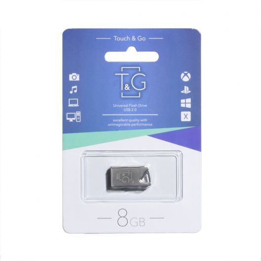 Купить USB FLASH DRIVE T&G 8GB METAL 109