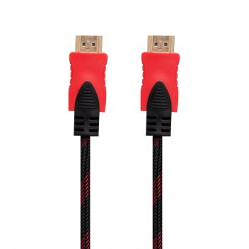 Купить CABLE HDMI- HDMI 1.4V 1.5M (ТКАНЕВЫЙ ПРОВОД)