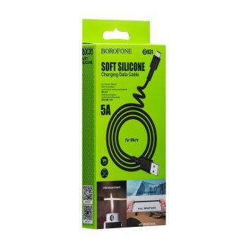 Купить USB BOROFONE BX31 SILICONE MICRO