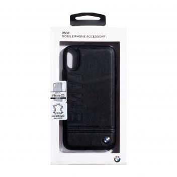 Купить ЗАДНЯЯ НАКЛАДКА BMW LEATHER FOR APPLE IPHONE X / XS
