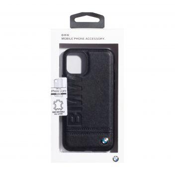 Купить ЗАДНЯЯ НАКЛАДКА BMW LEATHER FOR APPLE IPHONE 11 PRO