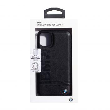 Купить ЗАДНЯЯ НАКЛАДКА BMW LEATHER FOR APPLE IPHONE 11