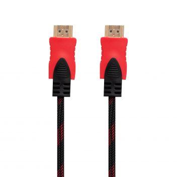 Купить CABLE HDMI- HDMI 1.4V 3M (ТКАНЕВЫЙ ПРОВОД)