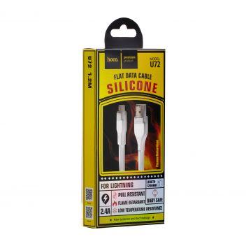 Купить USB HOCO U72 FOREST SILICONE LIGHTNING