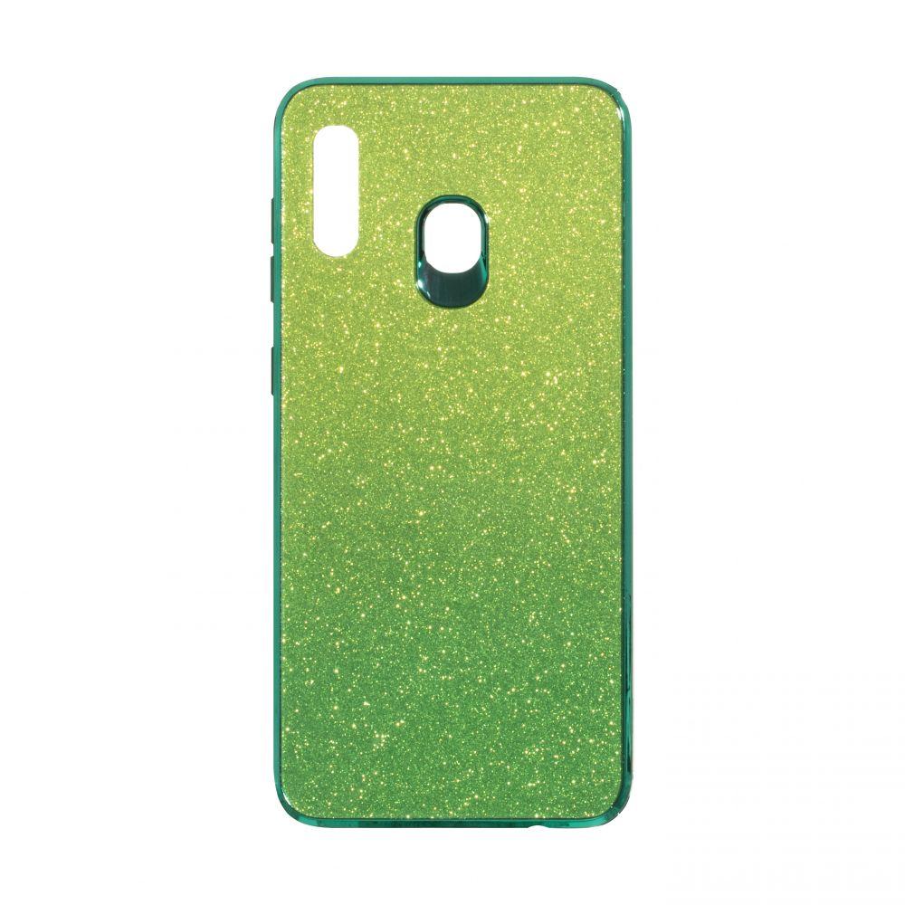 Купить СИЛИКОН CASE ORIGINAL GLASS TPU AMBRE FOR SAMSUNG A30 / A20_2