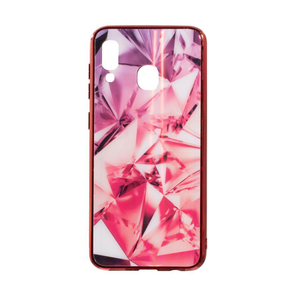 Купить СИЛИКОН CASE ORIGINAL GLASS TPU PRISM FOR SAMSUNG A30 / A20