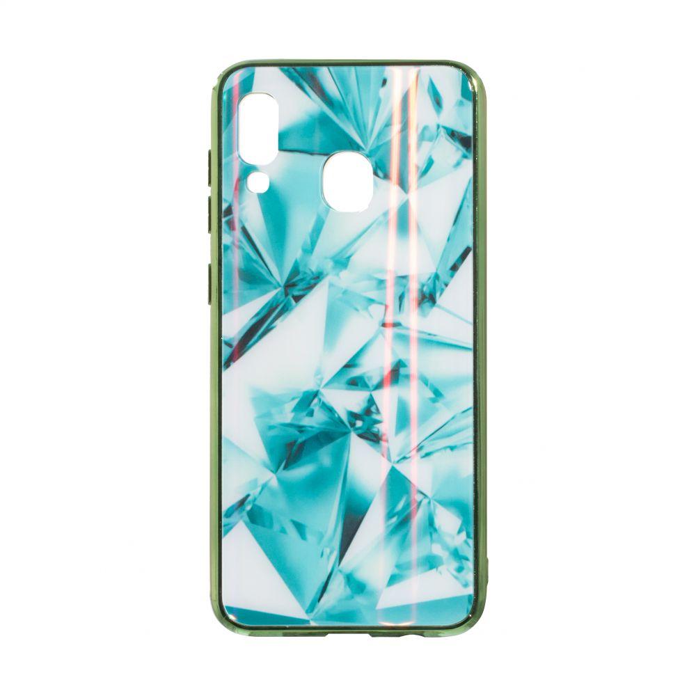 Купить СИЛИКОН CASE ORIGINAL GLASS TPU PRISM FOR SAMSUNG A30 / A20_1