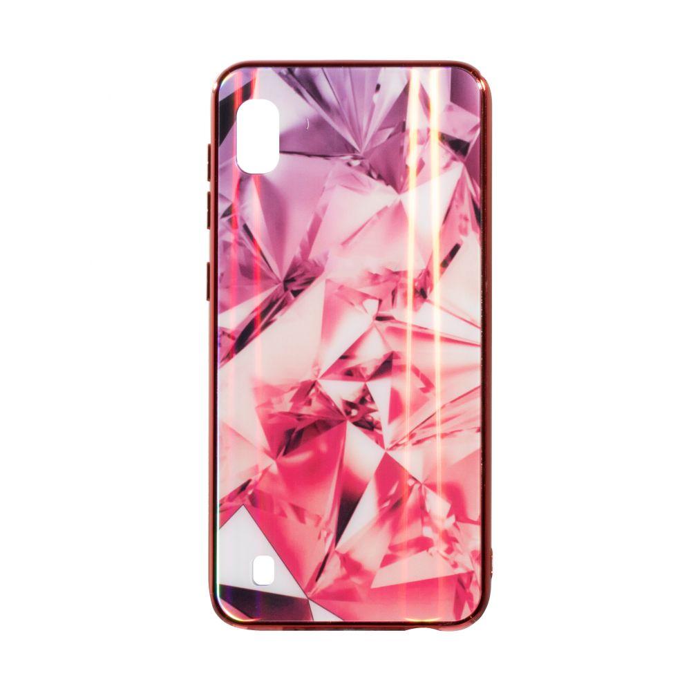Купить СИЛИКОН CASE ORIGINAL GLASS TPU PRISM FOR SAMSUNG A10