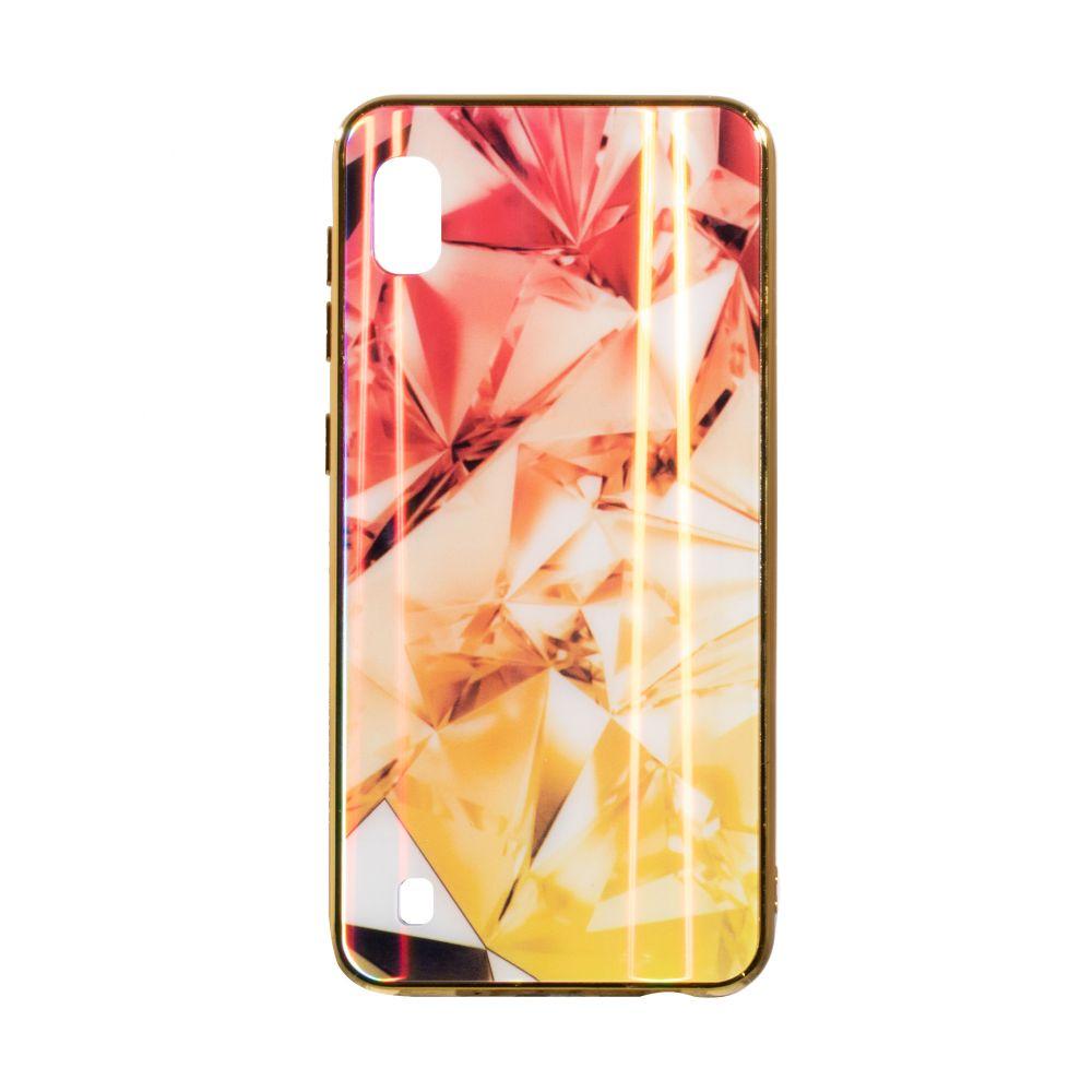 Купить СИЛИКОН CASE ORIGINAL GLASS TPU PRISM FOR SAMSUNG A10_1