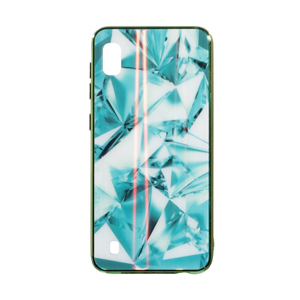 Купить СИЛИКОН CASE ORIGINAL GLASS TPU PRISM FOR SAMSUNG A10_2