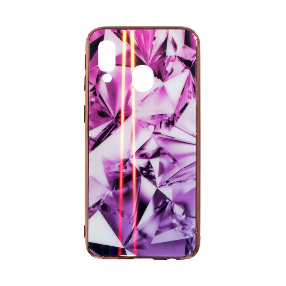 Купить СИЛИКОН CASE ORIGINAL GLASS TPU PRISM FOR SAMSUNG A40_1