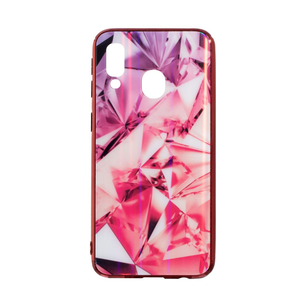 Купить СИЛИКОН CASE ORIGINAL GLASS TPU PRISM FOR SAMSUNG A40_3
