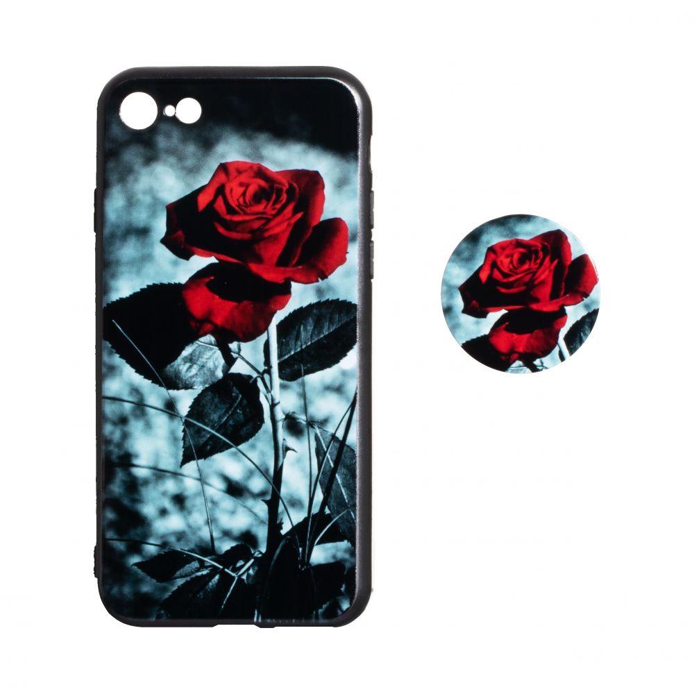Купить ЧЕХОЛ TPU PRINT WITH POPSOCKET FOR APPLE IPHONE 8G_5