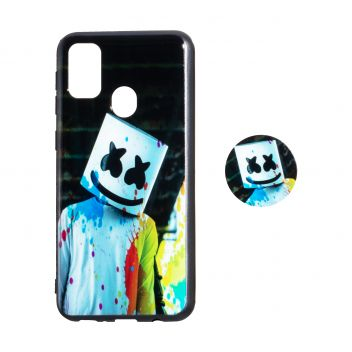 Купить TPU PRINT WITH POPSOCKET FOR SAMSUNG M30S
