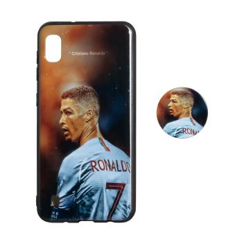 Купить TPU PRINT WITH POPSOCKET FOR SAMSUNG A10
