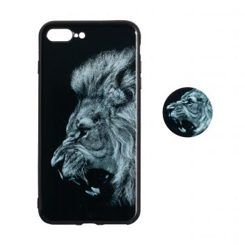 Купить ЧЕХОЛ TPU PRINT WITH POPSOCKET FOR APPLE IPHONE 7 PLUS