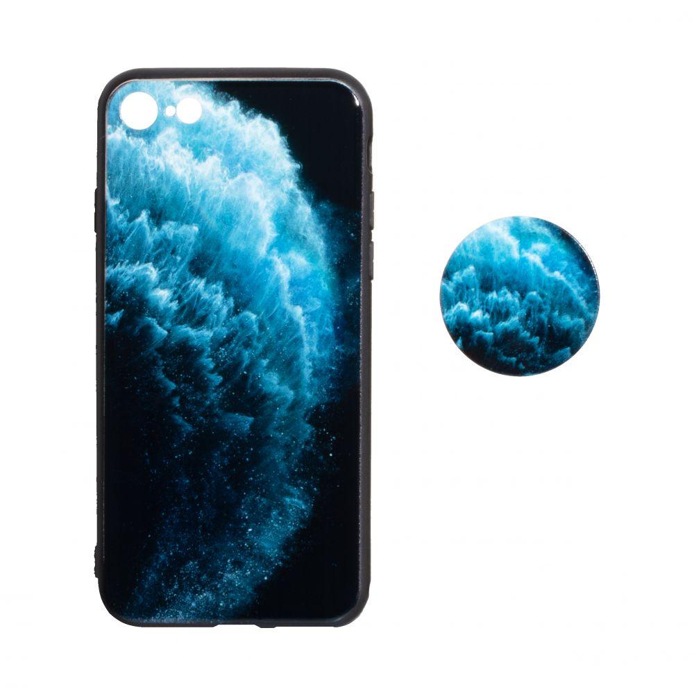 Купить ЧЕХОЛ TPU PRINT WITH POPSOCKET FOR APPLE IPHONE 8G_3