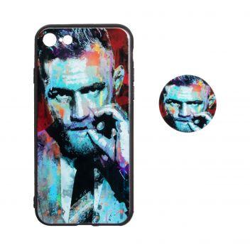 Купить ЧЕХОЛ TPU PRINT WITH POPSOCKET FOR APPLE IPHONE 8G