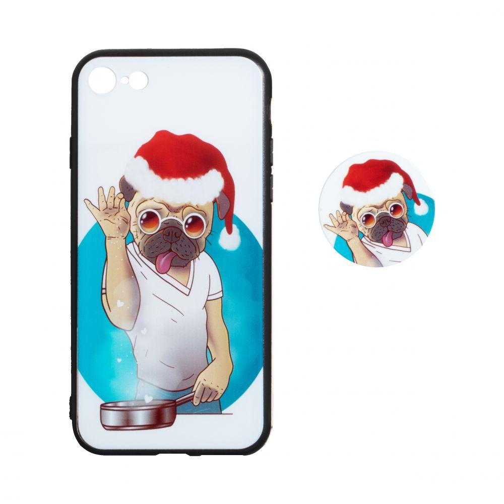 Купить ЧЕХОЛ TPU PRINT WITH POPSOCKET FOR APPLE IPHONE 8G_9
