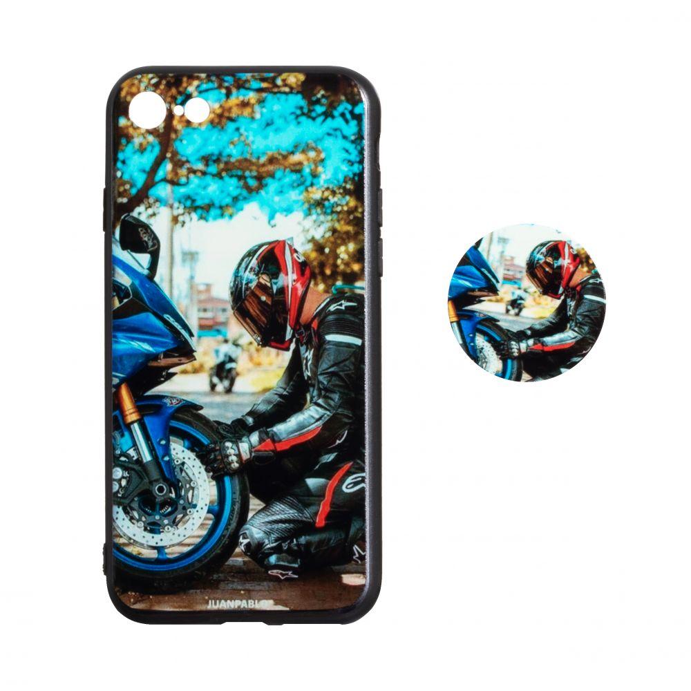 Купить ЧЕХОЛ TPU PRINT WITH POPSOCKET FOR APPLE IPHONE 8G_12